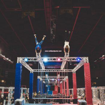 Travis Tarzan Wolfpack Ninjas Handstand