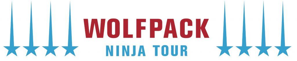 Wolfpack Ninja Tour Logo