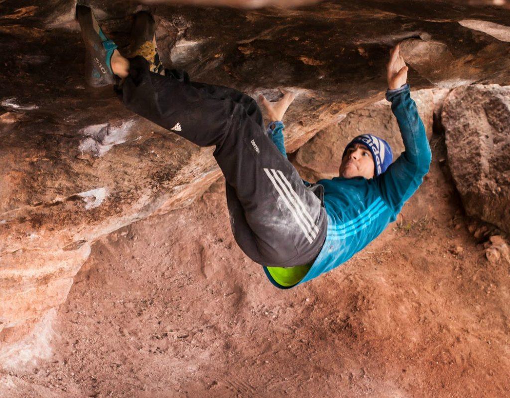 Sending Fantasia, Climbing V13