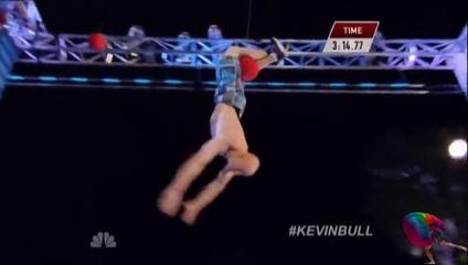 American Ninja Warrior Kevin Bull's Iconic Move
